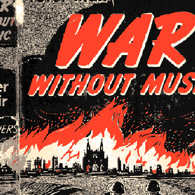 War without music, Peter Muir (copertina)